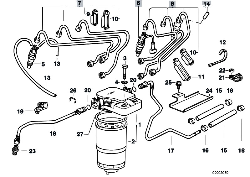 original parts for e36 325tds m51 touring    fuel