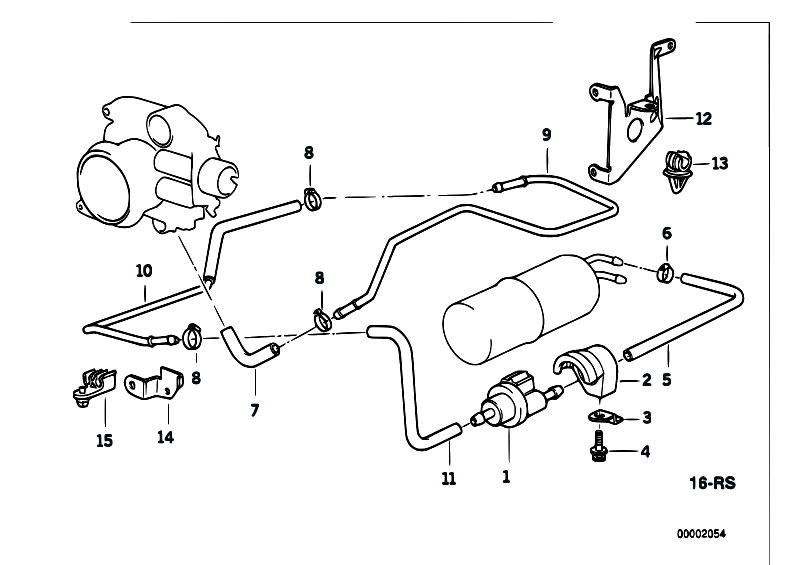 original parts for e38 740i m60 sedan    fuel preparation