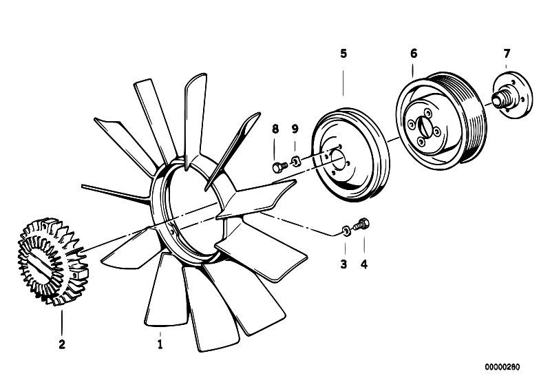 M42 Bmw Cooling System Diagram Com