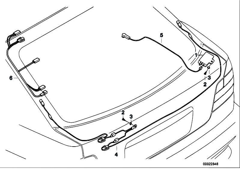 Original Parts For E36 318ti M44 Compact Audio Navigation