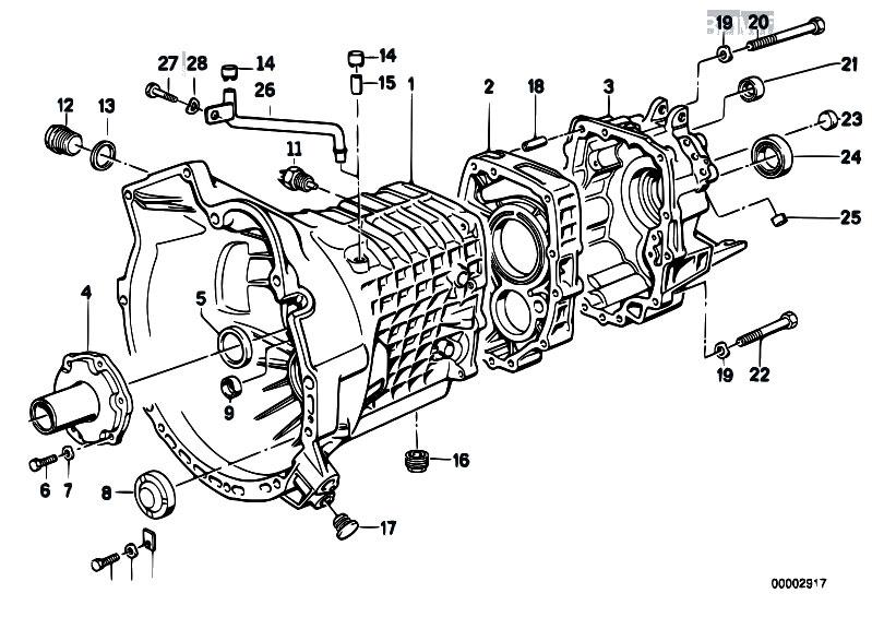 original parts for e34 m5 s38 touring manual transmission getrag rh estore central com BMW 328I BMW 4 Series
