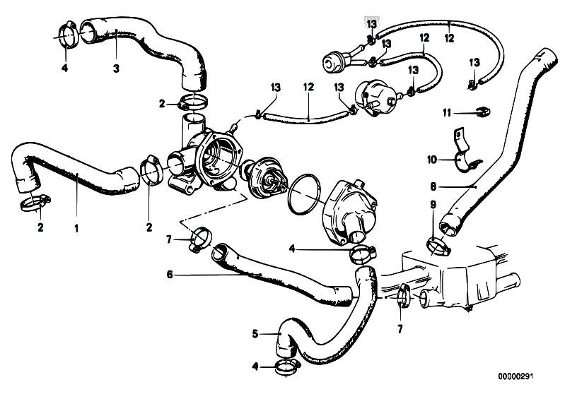 Original Parts For E21 323i M20 Sedan    Engine   Cooling