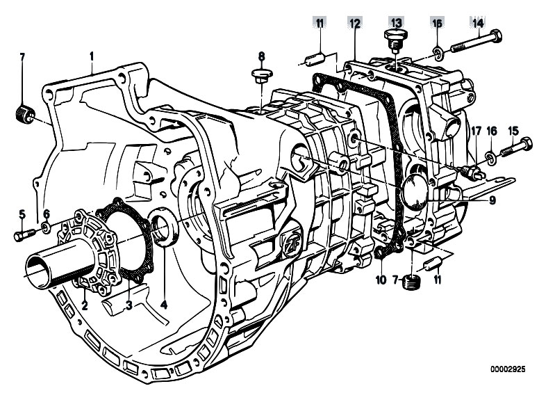 zf transmission schematic
