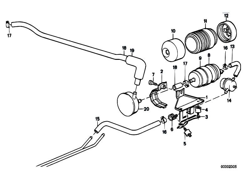 original parts for e30 m3 s14 2 doors    fuel supply   fuel