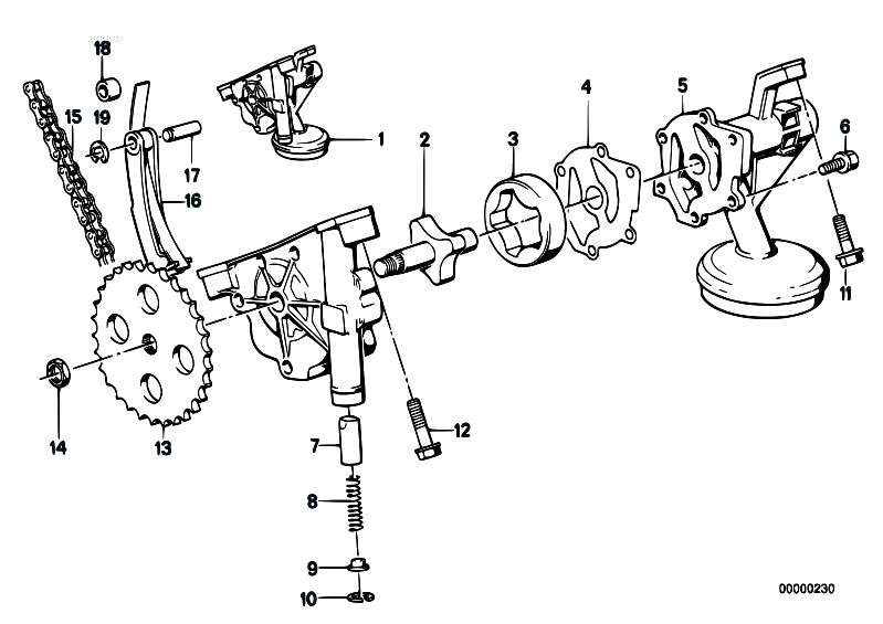 original parts for e32 730i m30 sedan    engine