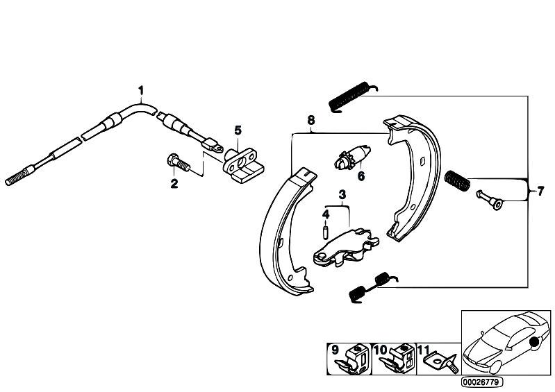 Original Parts For Z3 Z3 2 8 M52 Roadster Brakes