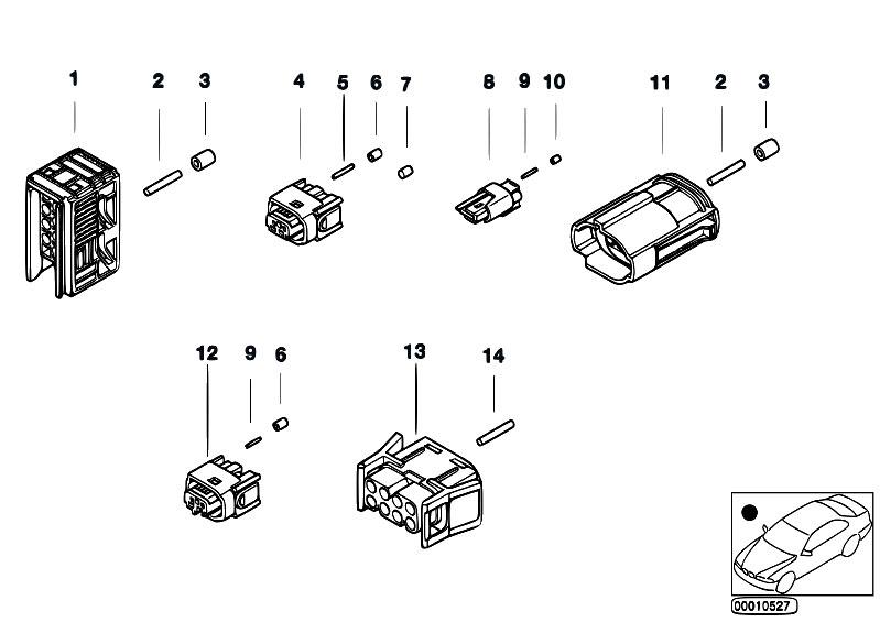 original parts for e38 735il m62 sedan    vehicle