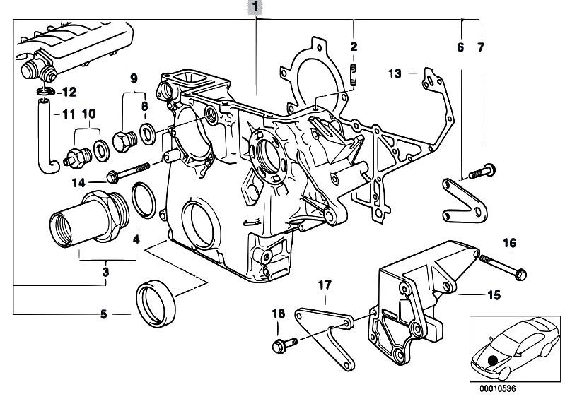 Original Parts For E39 525tds M51 Touring    Engine   Timing