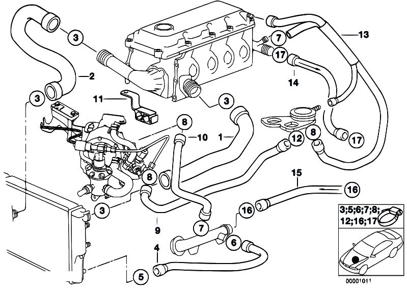 Bmw E36 Engine Diagram