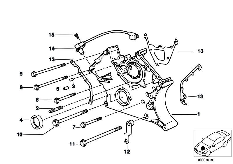 original parts for e38 730il m60 sedan    engine   lower