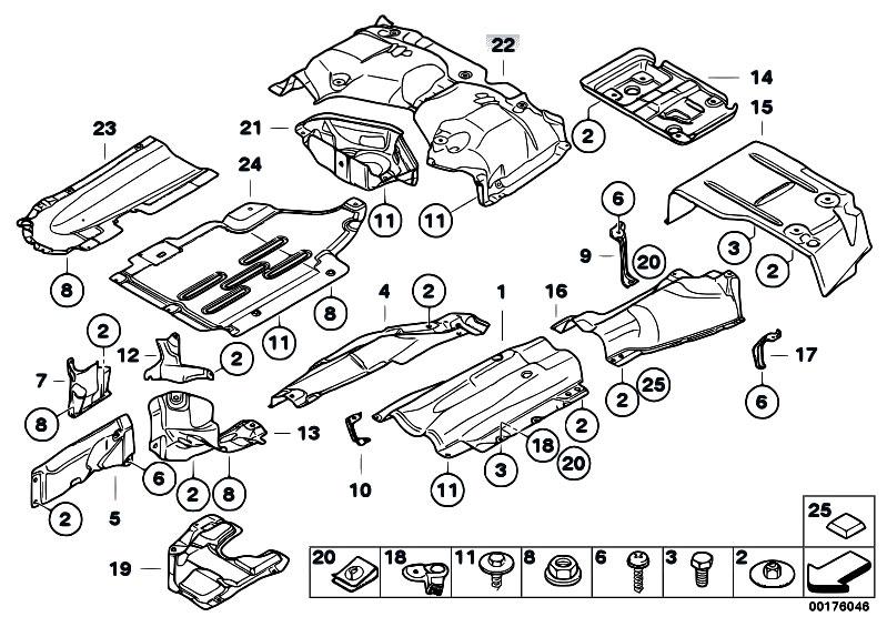 original parts for e91 325d m57n2 touring    vehicle trim   heat insulation