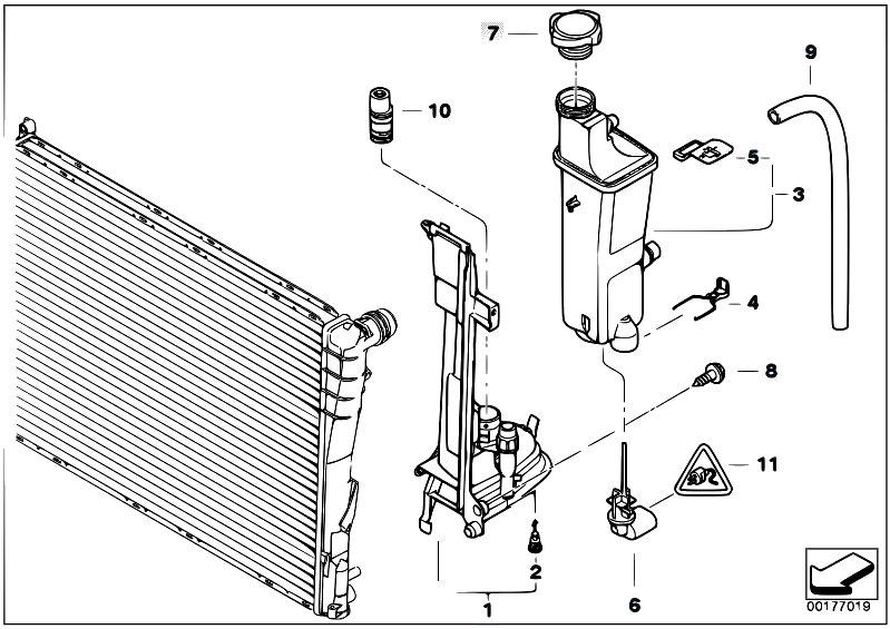 Original Parts For E46 320d M47n Touring    Radiator