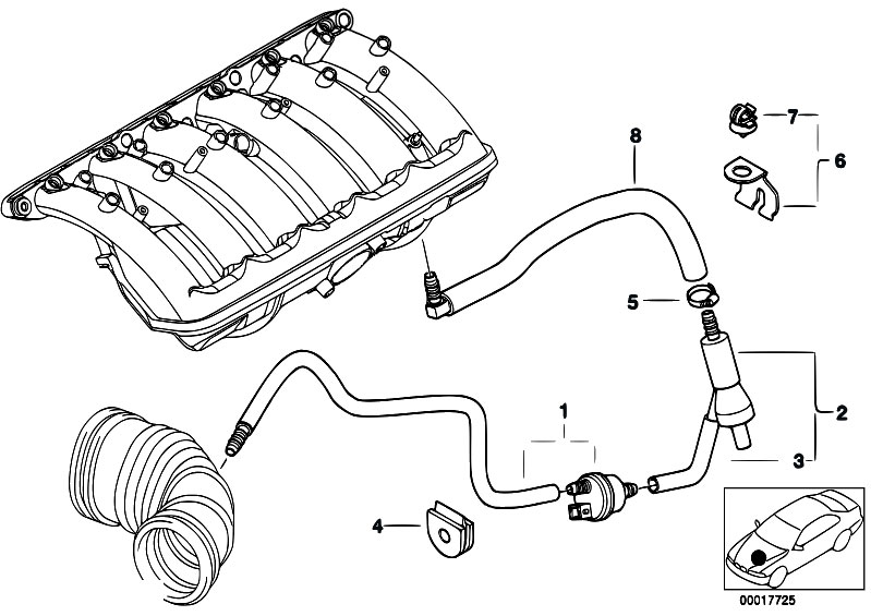 2000 bmw 323i power steering diagram