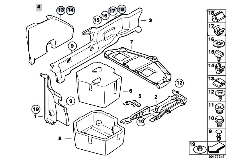 Original Parts For E93 335i N54 Cabrio Manual