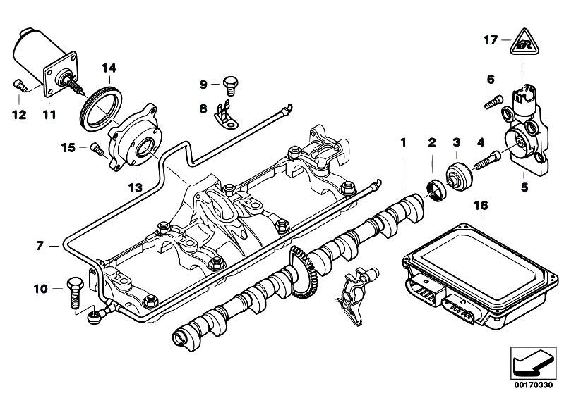 original parts for e67 745lis n62 sedan    engine   valve