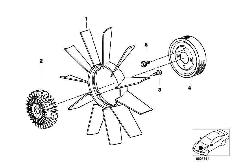 Cooling System Fan