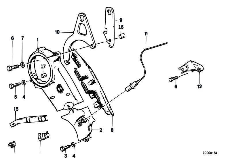 Original Parts For E30 325e M20 4 Doors    Engine   Wheel Casing Upper Part