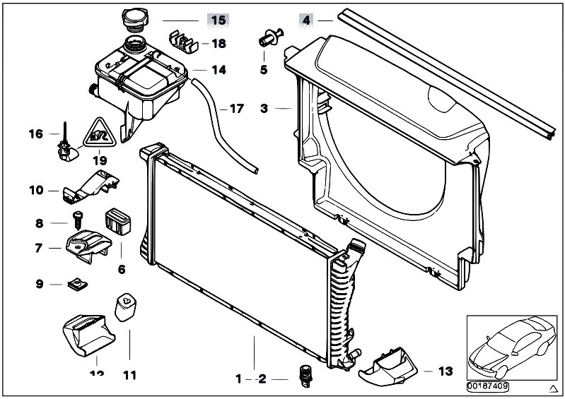 2001 bmw 325i expansion tank diagram