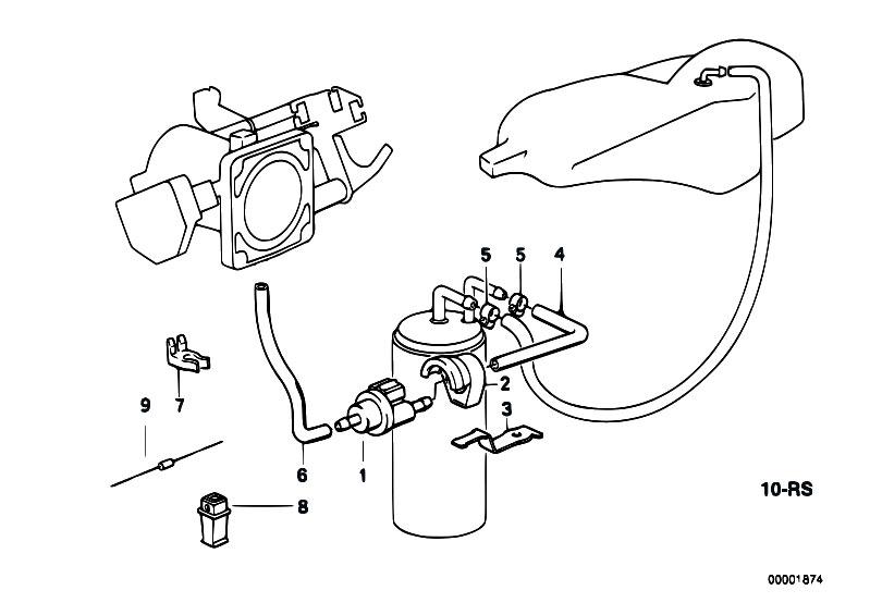 original parts for e34 520i m50 touring    fuel preparation