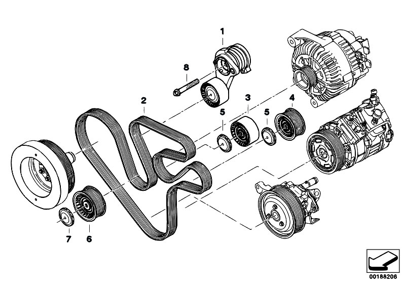 n54 engine diagram