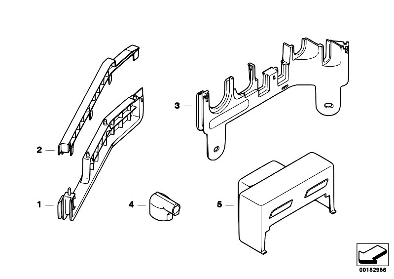 Original Parts For E46 330xi M54 Touring    Engine