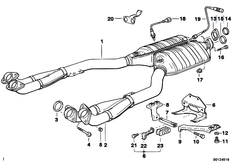 original parts for e34 530i m60 sedan exhaust system catalytic 2005 VW Jetta Stock Catalytic Converter original parts for e34 530i m60 sedan exhaust system catalytic converter front silencer estore central