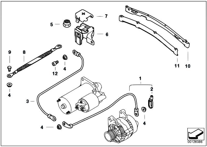 Original parts for e46 320d m47 touring engine electrical system original parts for e46 320d m47 touring engine electrical system battery cable estore central asfbconference2016 Images