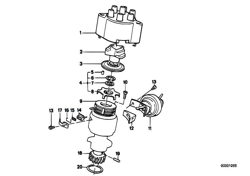 Original Parts For E21 320 M20 Sedan    Engine Electrical