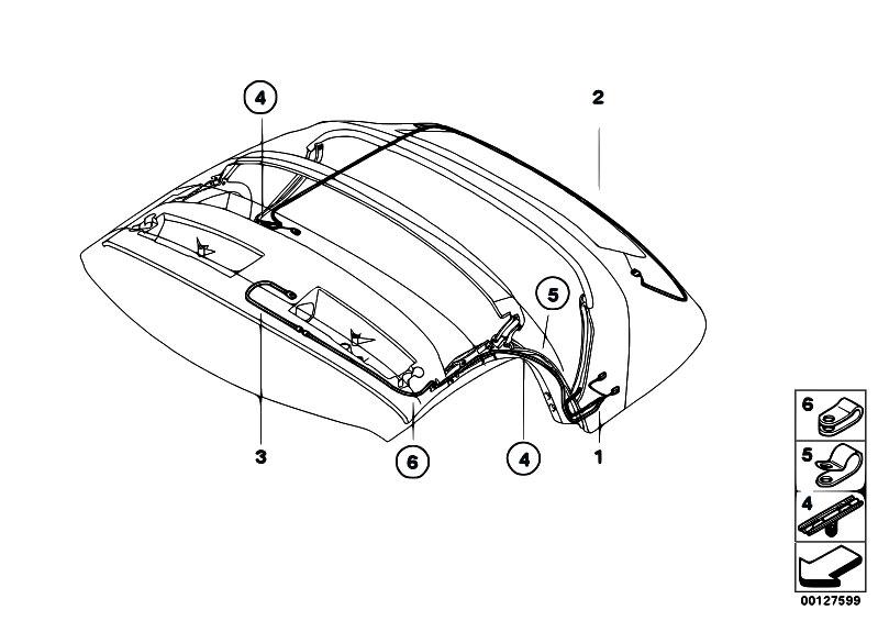 original parts for e85 z4 2 5i m54 roadster    vehicle