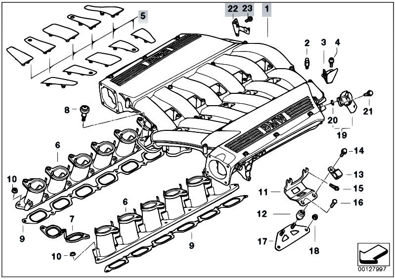 original parts for e66 760li n73 sedan / engine/ intake ... bmw z3 engine diagram #6