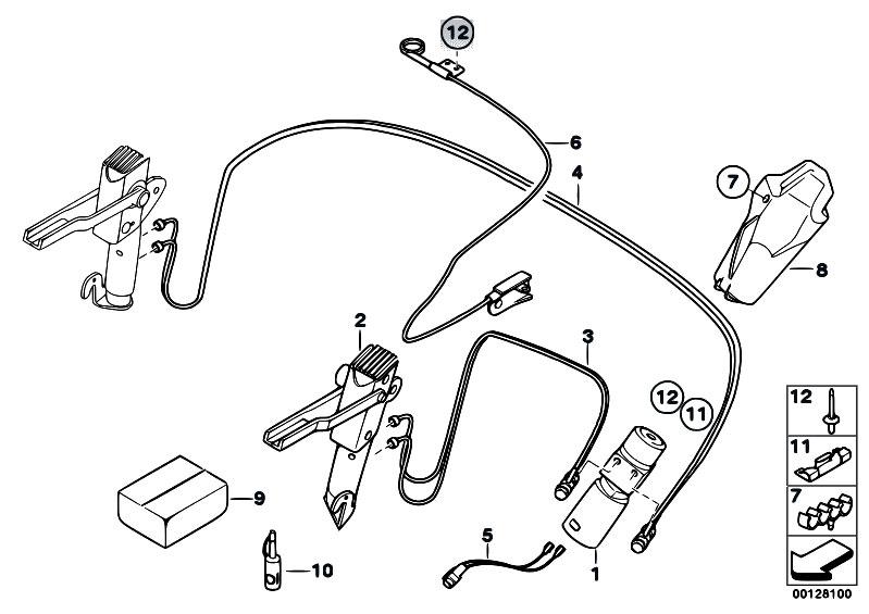 Original Parts For E85 Z4 3 0i M54 Roadster Sliding Roof Folding