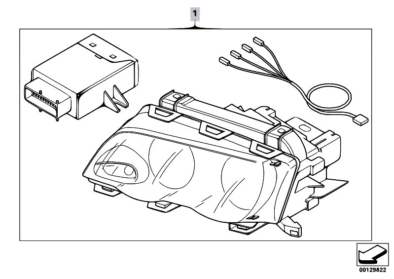 Original Parts For E46 318d M47n Touring Vehicle Electrical System