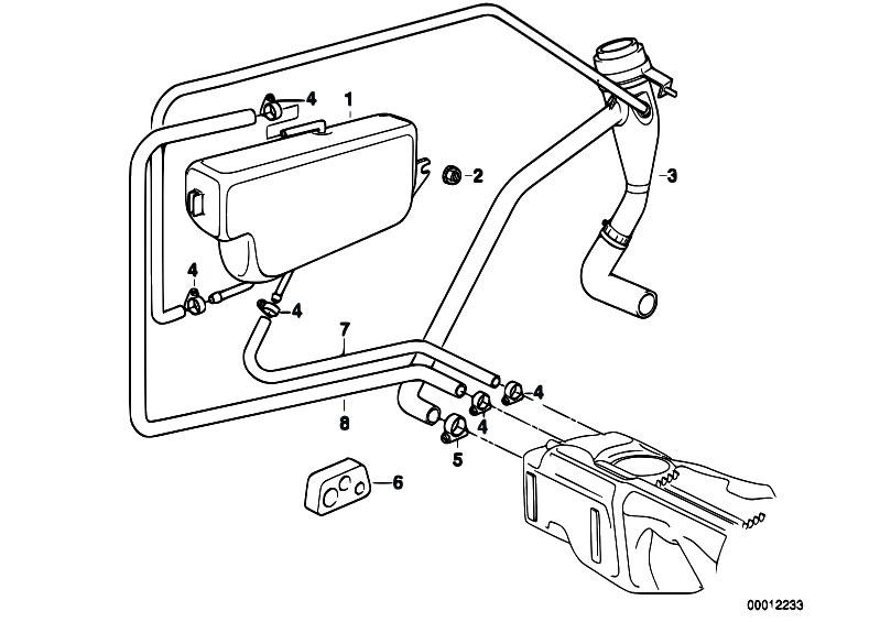 Original Parts For E36 323ti M52 Compact Fuel Supply Expansion