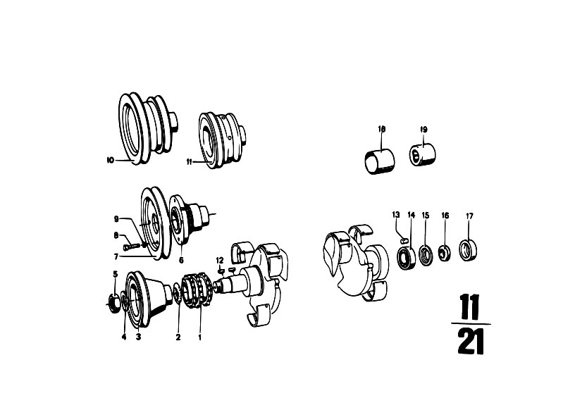 original parts for 114 1600gt m10 coupe    engine