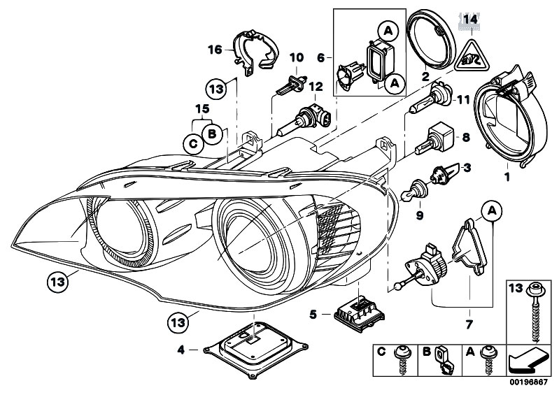 64319313517 likewise 2008 Bmw 528xi Engine Diagram also Original Parts For E36 325td further Showthread moreover 2008 Bmw 528xi Fuse Diagram. on bmw 135i engine diagram