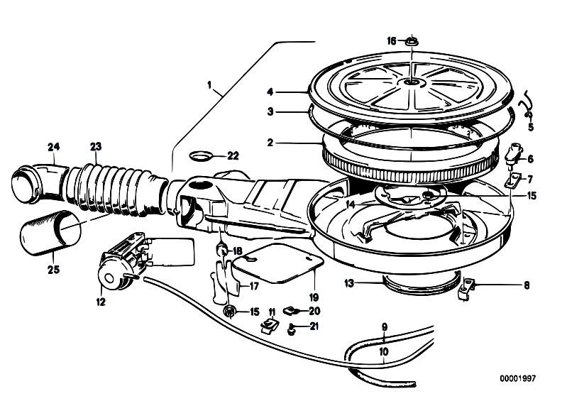Original Parts For E21 315 M10 Sedan    Fuel Preparation