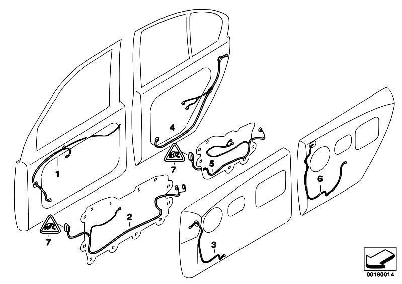 original parts for e66 745li n62 sedan    vehicle
