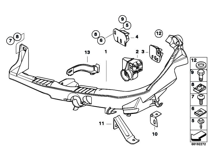 Original Parts For E93 M3 S65 Cabrio Vehicle Trim Headlight Arm