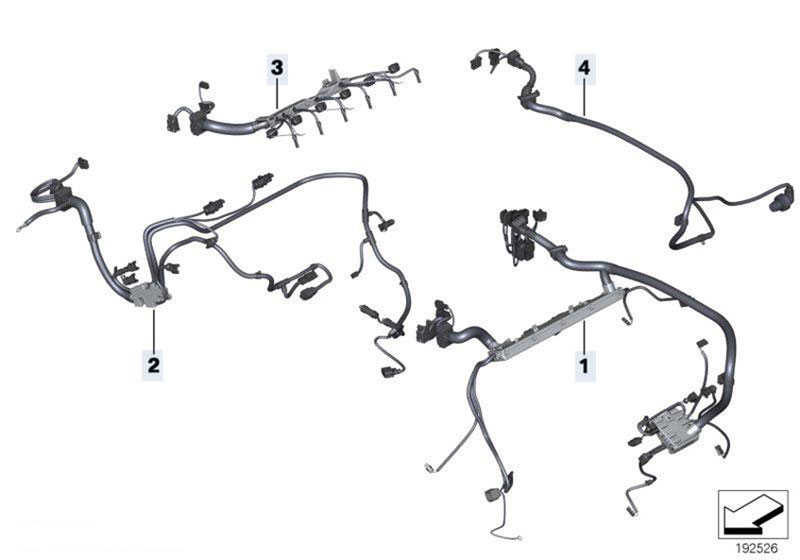 Original Parts For F02 740li N54 Sedan Engine Electrical System