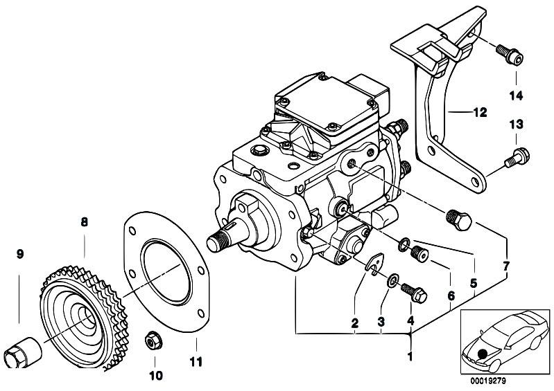 original parts for e46 320d m47 touring    fuel preparation