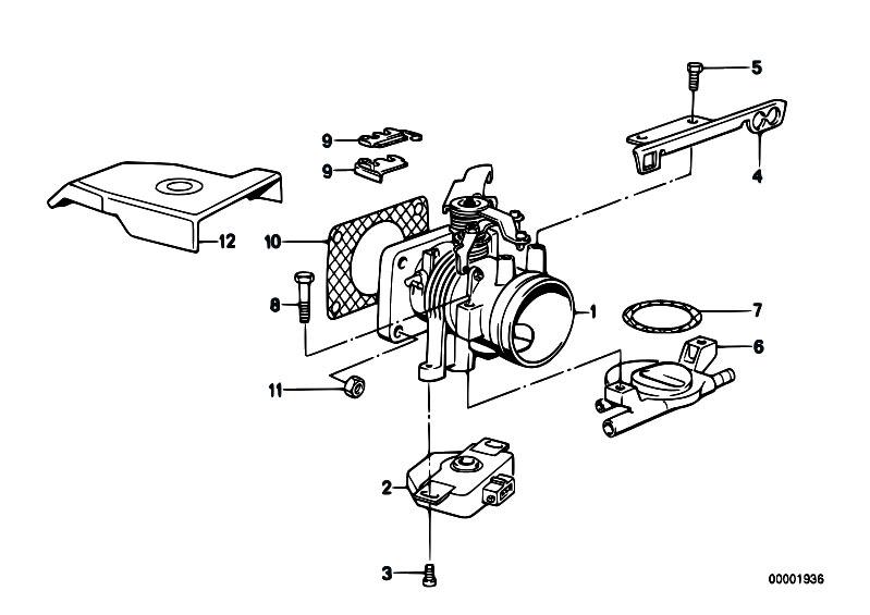Original Parts For E30 316i M40 Touring Fuel Preparation System