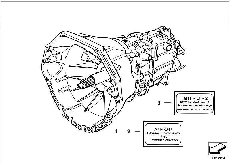 e46 m3 clutch and transmission diagram