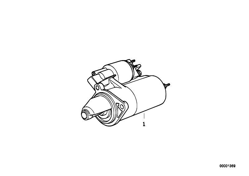 original parts for e12 520i m10 sedan    engine electrical