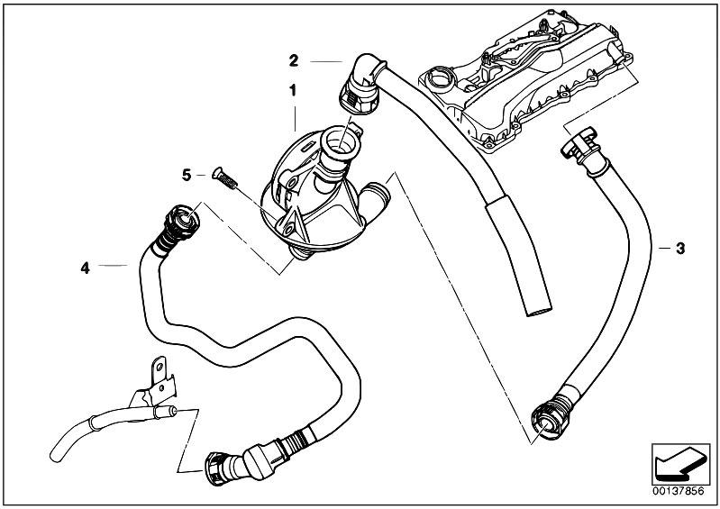 Original Parts For E90 320i N46 Sedan    Engine   Crankcase