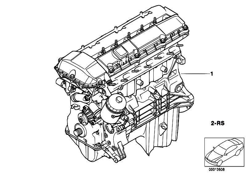 Original Parts For E60 530i M54 Sedan    Engine   Short