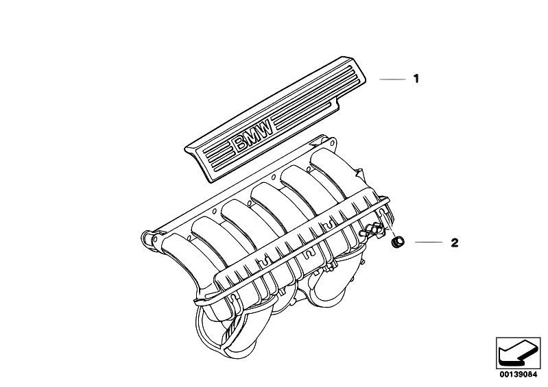 Original Parts For E60 530i N52 Sedan    Engine   Mounting