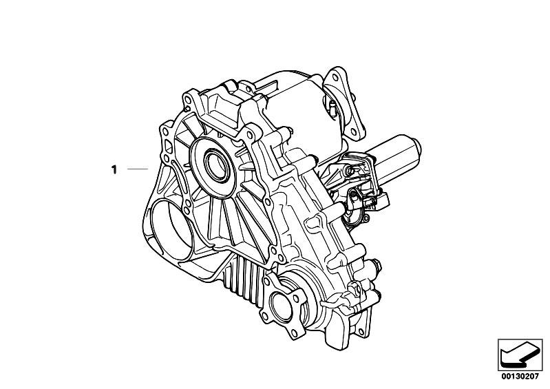 bmw x3 transfer case diagram