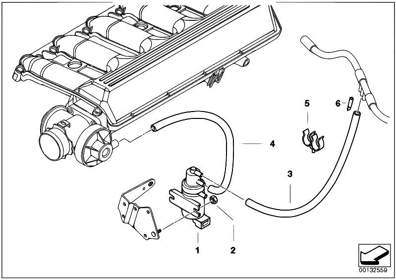Original Parts for E90 335d M57N2 Sedan / Engine/ Vacuum Control Agr -  eStore-Central.comeStore-Central.com