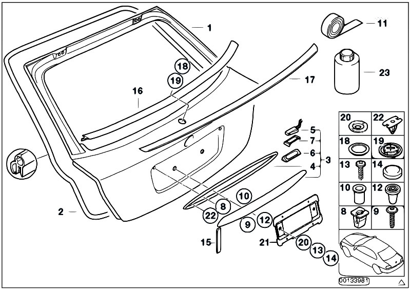 bmw n42 wiring diagram original parts for e46 316ti n42 compact / bodywork ...