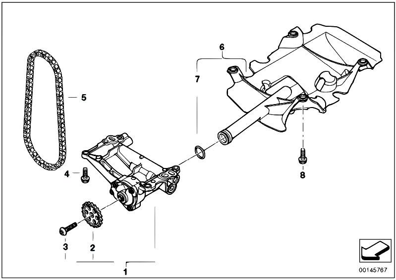 Original Parts For E70 X5 3 0d M57n2 Sav    Engine